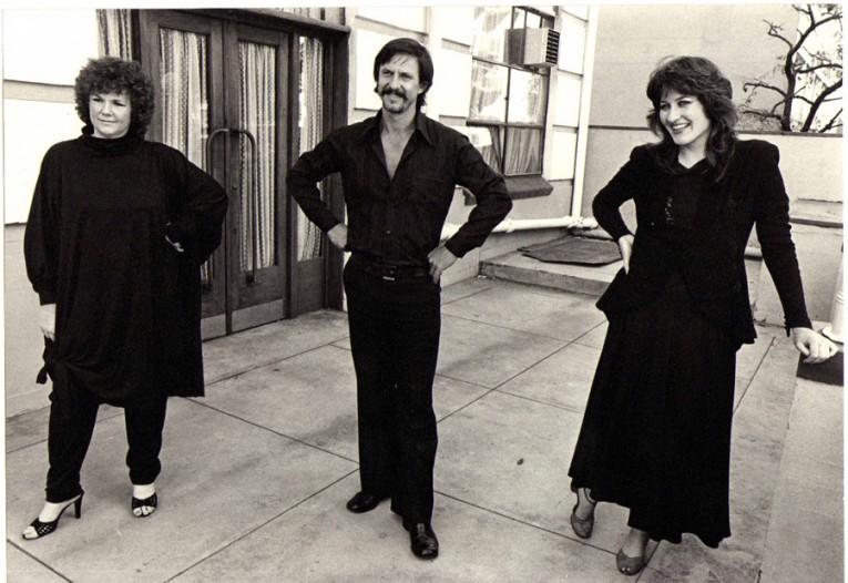 1980 - Met Ann Hamblin en Ferdi Uphof tydens 'n repetisie vir Encore! Brel