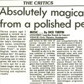 1984 - The Star - Absolutely magical concert from a polished performer